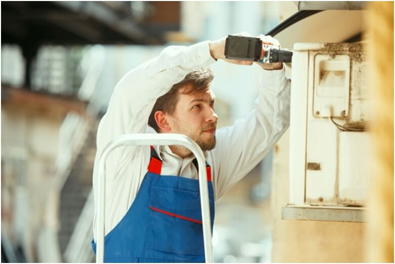 How frequently should the HVAC unit be repaired