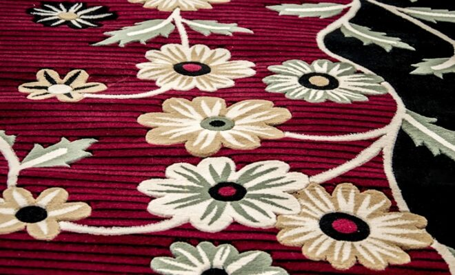 How to Decorate with Floral Rugs